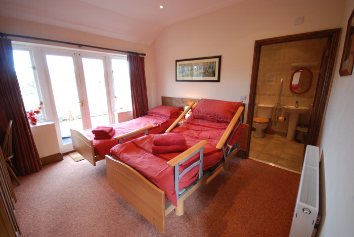 Self Catering Converted Barn On The Isle Of Wight Red